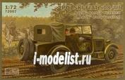 72007 IBG models 1/72 Polski FIAT 508/III Lazik early version