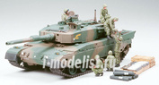 35260 Tamiya 1/35 Jgsdf Type 90 Tank w/Ammo-Loading Crew Set. Японские наземные силы самообороны. Танк тип 90 с экипажем загрузки снарядов (6 фигур)