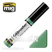 AMIG3529 Ammo Mig MECHA LIGHT GREEN (Oil paint with a thin brush applicator)