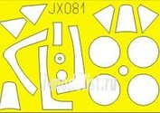JX081 Eduard 1/32 Маска для P-47M