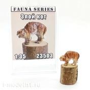 23503 MINITANK 1/35 Злой кот (окрашенная миниатюра)