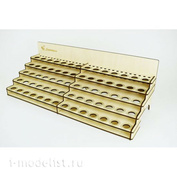 LSH0003 Laser Hobby Paint rack for 70 cans universal