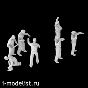 im144006 Imodelist 1/144 Figures of submariners