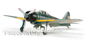 61108 Tamiya 1/48 Mitsubishi A6M3/3a Zero Fighter (ZEKE) (5 фигур пилотов, фототравление, 4 вида декалей)