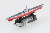 37317, Easy model 1/700 scale Assembled and painted model submarine U-9B 1941