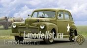 72298 Ace 1/72 Us Army Staff Car model 1942