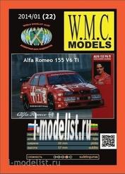 WMC-22 W. M. C. Models 1/25 Alfa Romeo 155 V6 Ti