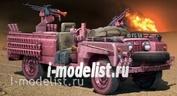 6501 italeri 1/35 S.A.S. Recon Vehicle