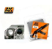 AK215 AK Interactive Линзы прозрачные белые WHITE 4mm