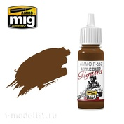 AMMOF552 Ammo Mig Paint Acrylic Red Leather / RED LEATHER