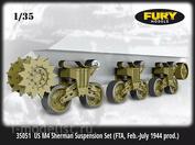 35050 Fury Models 1/35 Подвеска американского танка