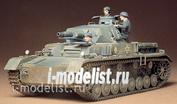 35096 Tamiya 1/35 Немецкий танк Pzkpw IV Ausf.D 1939г.(с укороченной пушкой) и 3 фигурами танкистов