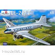 72244 Amodel 1/72 Li-2 P/T