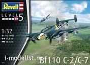 04961 Revell 1/32 Messerschmitt Bf110 C-2/C-7 Heavy fighter