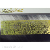 MD14406 Metallic Details 1/144 Photo Etching for Airbus A300 Beluga (Revell)