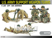 6198 Dragon 1/35 Солдаты Us Army Support Weapon Teams