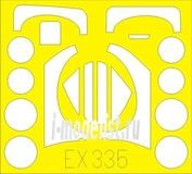 EX335 Eduard 1/48 Маска для самолета Sea Vixen FAW.2