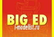 BIG72108 Eduard 1/72 Фототравление для MiG-29A IZDELIYE 9-12