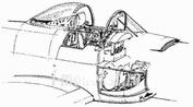 7048 CMK 1/72  Набор дополнений A-1H Skyraider - interior set for HAS