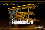 2114 Eduard 1/72 Fokker Dr.I STRIPDOWN