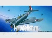 02242 Trumpeter 1/32 Самолет SBD-3/4 - А-24А