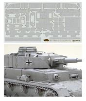 12650 Tamiya 1/35 Набор наклеек, имитирующих циммерит для танка Panzer IV J (для 35181)
