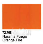 72708 Vallejo Orange Fire