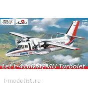1467-02S Amodel 1/144 Let L-410MA/MU Turbolet