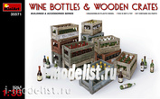 35571 MiniArt 1/35 Бутылки вина и деревянные ящики