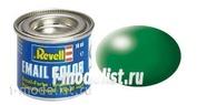 Paint Revell 32364 leaf green, silk RAL 6001-Matt
