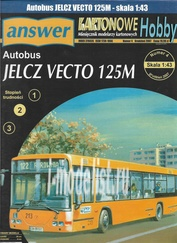 A16 Answer 1/43 Bus JELCZ VECTO 125M