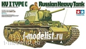 35066 Tamiya 1/35 Soviet heavy tank KV-1C with 1 tankman figure