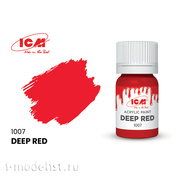 C1007 ICM Paint for creativity, 12 ml, color Deep red (Deep Red)