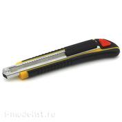 4052 Jas Нож выдвижной с противоскользящей рукояткой, автоматическая замена и фиксация лезвия