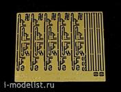 35044 Vmodels 1/35 Фототравление для Набор ремней к ППШ. ППС. винтовке Мосина