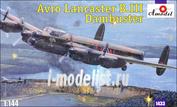 1433 Amodel 1/144 Самолет Avro Lancaster B.III Dambuster