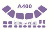 72137 KV Models 1/72 Маска для Airbas A400M