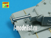 48 L-18 Aber 1/48 Russian 152,4 mm M-10S tank barrel for KV-II