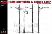 MiniArt 1/35 35523 Tram poles and street lamp