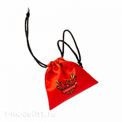 1168 Zvezda Pouch for game components red