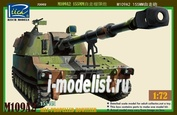 RT72002 Riich 1/72 M109A2 155MM Self-Propelled Howitzer