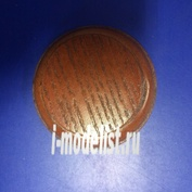PL22 Plate Подставка для миниатюры (цвет - коньяк) круглая Основание - 6 см., верхушка - 4,5 см.