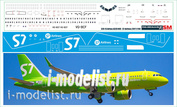 320-15 PasDecals Decal 1/144 Scales on the New A320 NEO S7