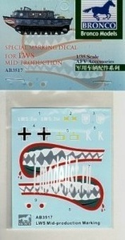 AB3517 Bronco 1/35 Special Marking Decal for LWS Mid-Production
