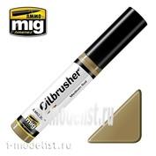 AMIG3522 Ammo Mig MEDIUM SOIL (Масляная краска с тонкой кистью аппликатором)