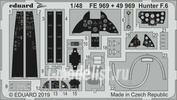 FE969 Eduard photo etched parts for 1/48 Hunter F. 6