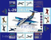 86001 AMK 1/72 Aero L-29 Delfin