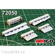 AMG72050 Amigo Models 1/72 Yak-130 Set of take-off and landing wing mechanization
