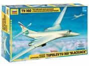 7002 Звезда 1/144 Российский сверхзвуковой стратегический бомбардировщик Ту-160