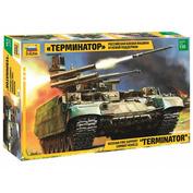 3636-1 Звезда 1/35 Российская боевая машина огневой поддержки «Терминатор» + набор красок для окрашивания и ретардер